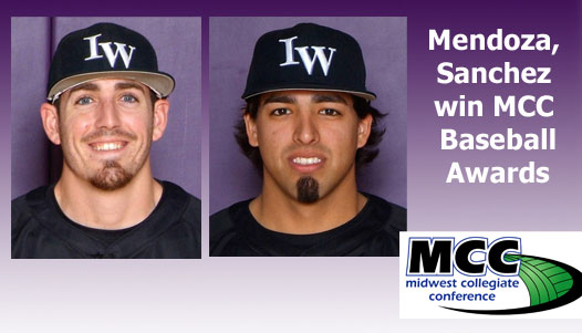 Mendoza, Sanchez win top MCC awards; five others receive honors