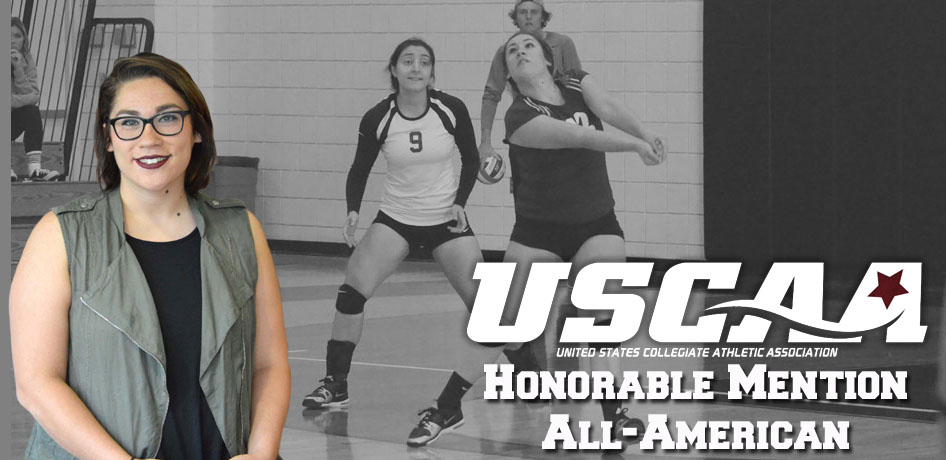 Photo for Howard Named USCAA Volleyball All-American
