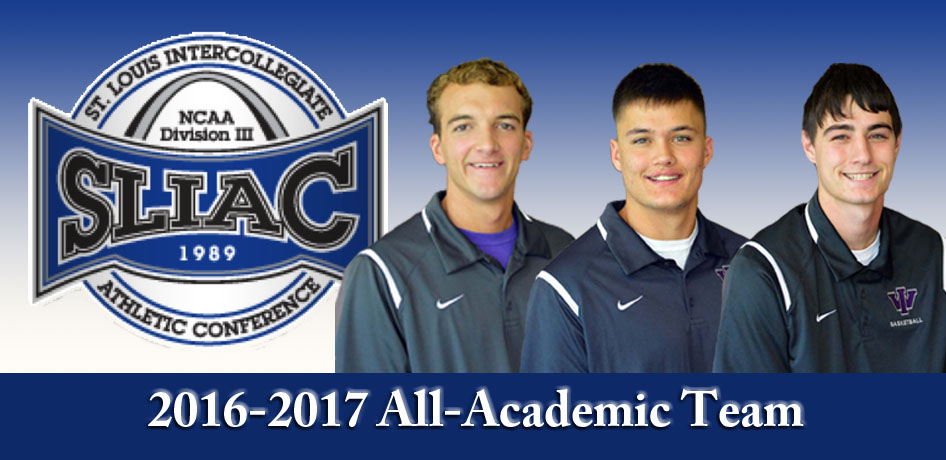 Photo for 3 Men's Basketball Members Earn SLIAC Conference All-Academic Honors