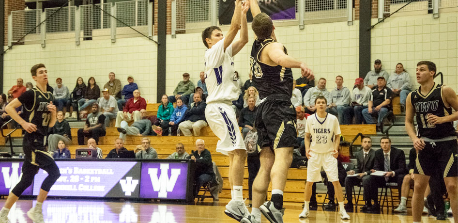Photo for Men's Basketball Defeats Blackburn on the Road