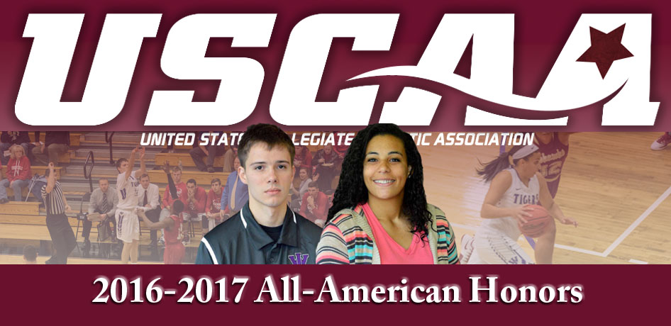 Photo for Steven Soukup and Cairece Allen Earn USCAA All-American Honors