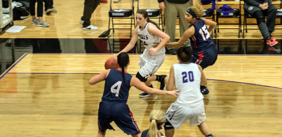 Photo for Women's Basketball Bounces Back with Win over MacMurray