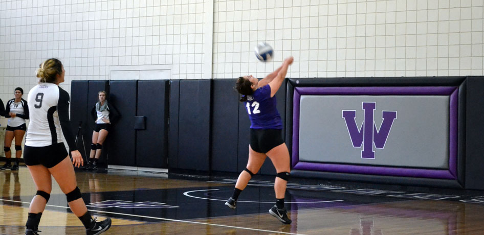 Photo for Volleyball Ends Seven Game Skid with Win over Blackburn