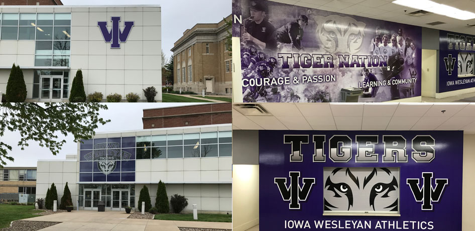 Photo for Iowa Wesleyan University Tiger Athletics Boldly Enhances Brand