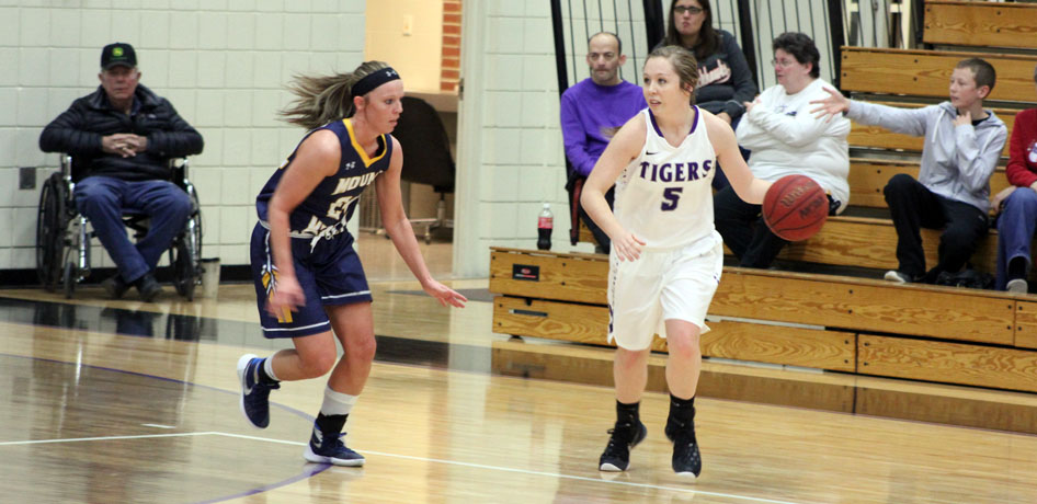 Photo for Tigers Pick Up First Win after Defeating Grinnell College