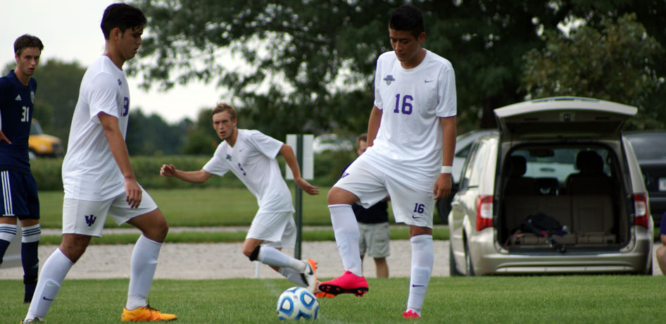 Photo for Men's Soccer Takes down MacMurray for Second SLIAC Win