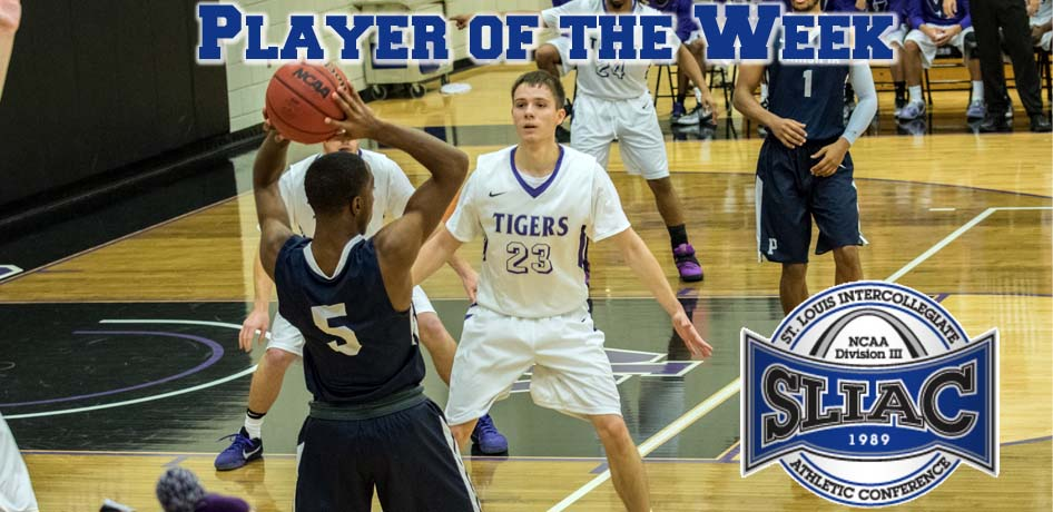 Photo for Steven Soukup Earns SLIAC Player of the Week Award, AGAIN!