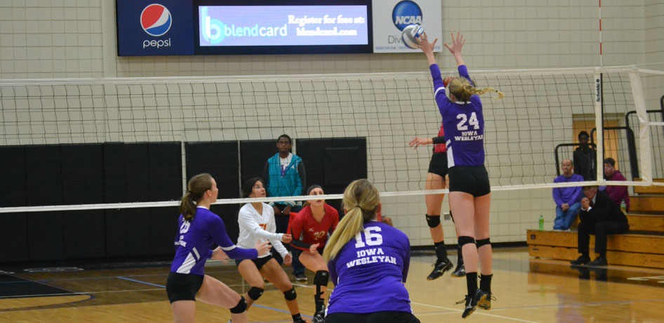 Photo for Volleyball Falls to Dubuque in Non-Conference Match