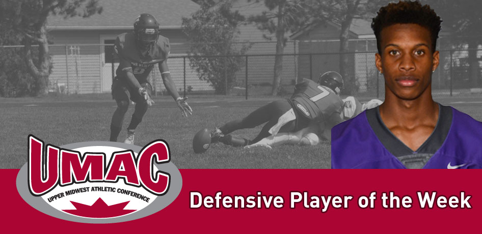 Photo for Mosley Named UMAC Defensive Player of the Week