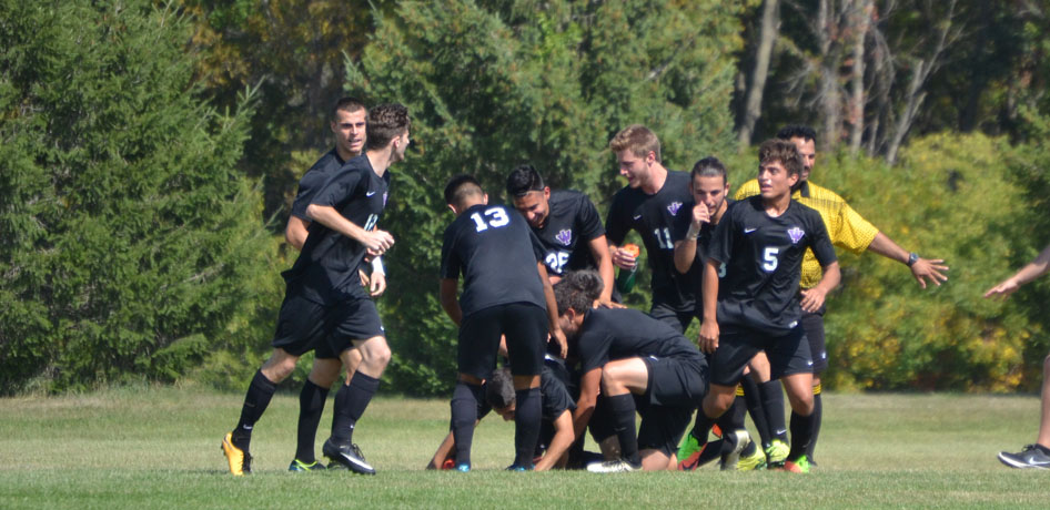 Photo for Men's Soccer Drops Road Match to William Penn