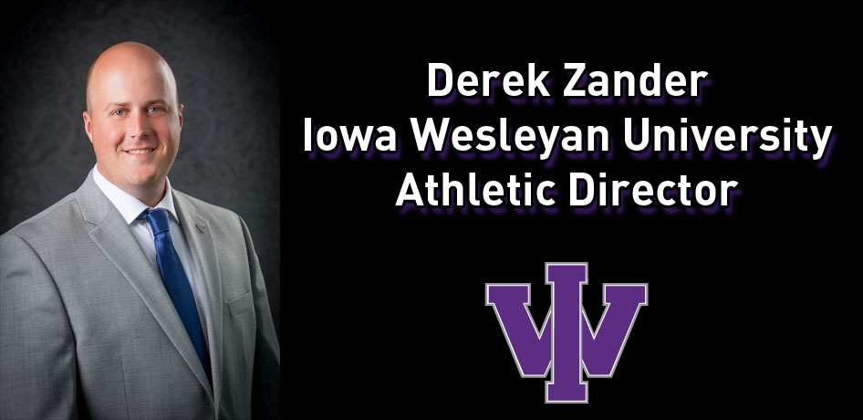 Photo for Iowa Wesleyan University Names Derek Zander as Athletic Director