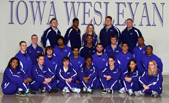 2011-12 Men's Indoor Track & Field Team Photo